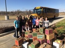 Elementary Schools Join Together for Big Food Bowl