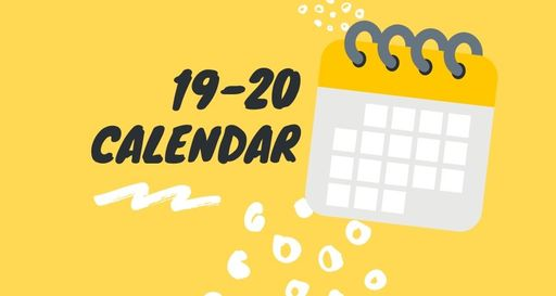EMS 19-20 Calendar of Events