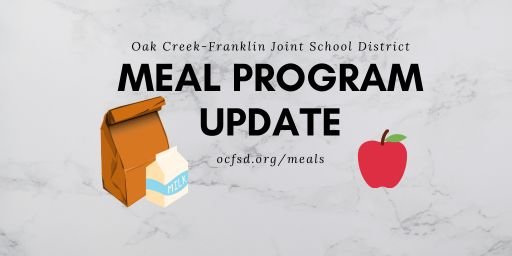 Meal Program Update