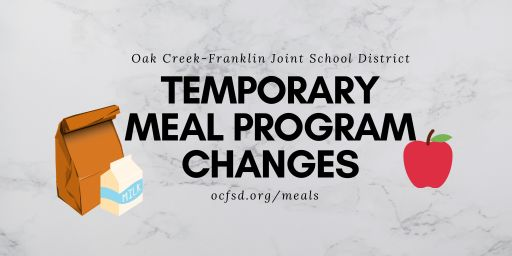 Temporary Meal Program Changes