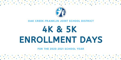 4K & 5K Enrollment Days