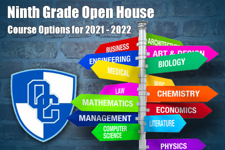 NGC Open House Course Options for 2021 - 2022