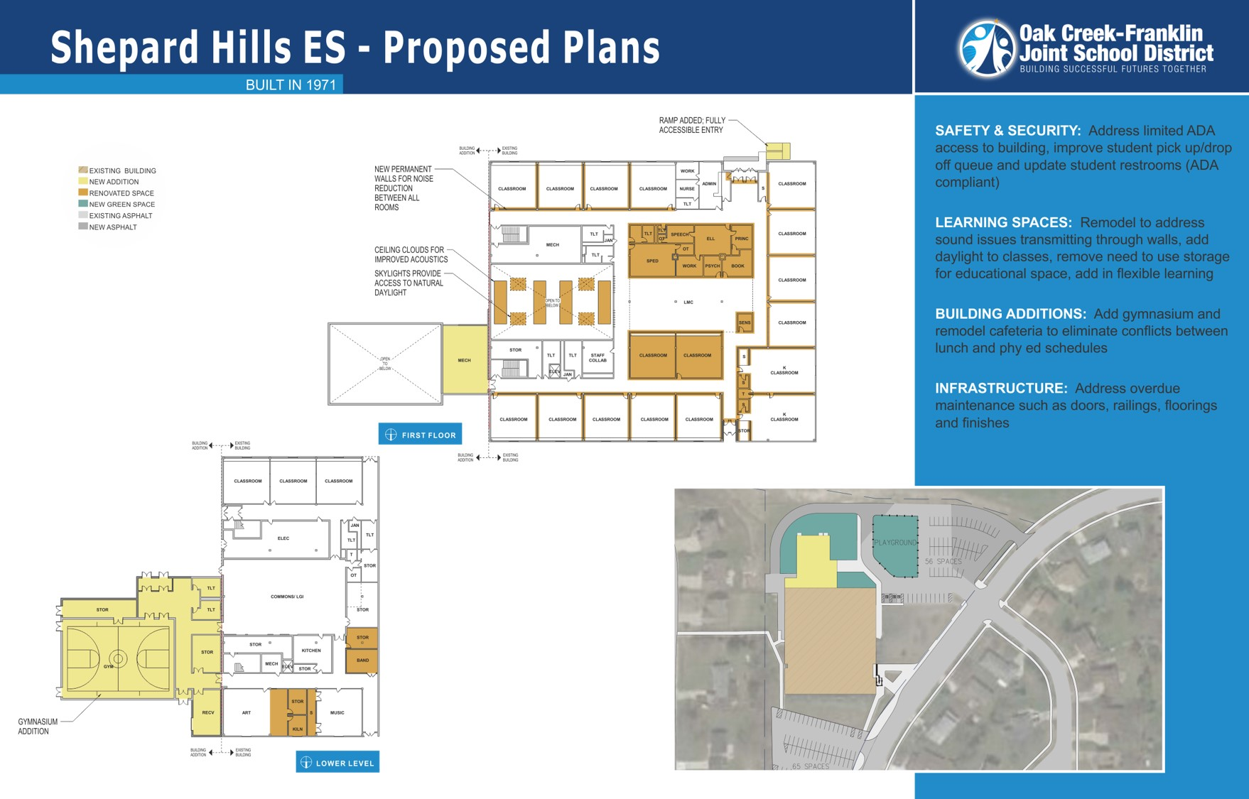 Shepard Hills Elementary proposed plans for 2018 referendum