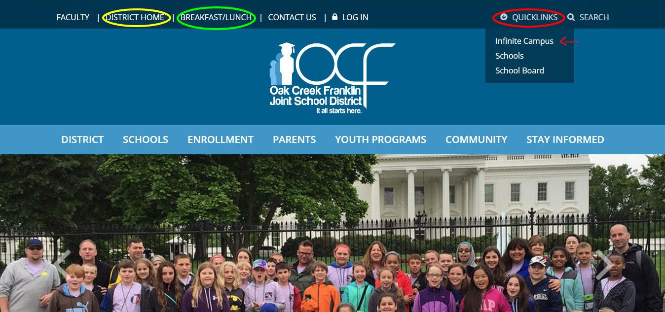 news details oak creek franklin joint school district
