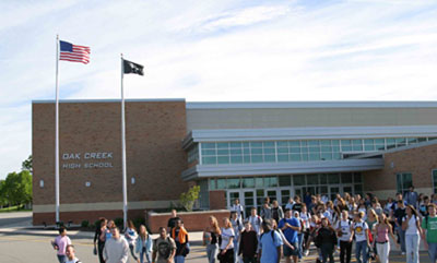 Oak Creek High School building